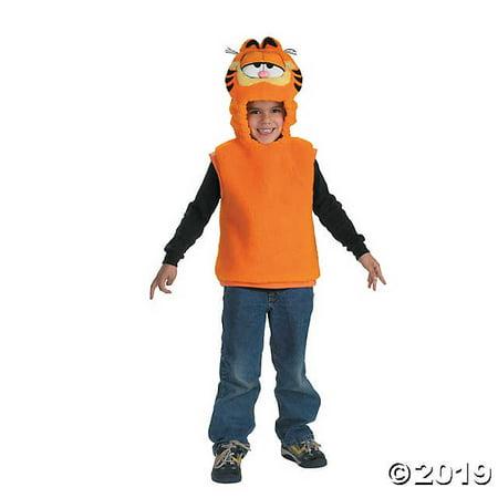 Garfield Vest (Toddler Garfield™ Vest Costume - 1T-2T)