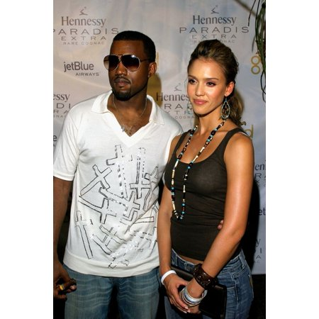 Kanye West Jessica Alba At Arrivals For Kanye West GOOD Music Mtv Vma Pre-Party The Shore Club Miami Fl August 27 2005 Photo By Ricky McgillEverett Collection Celebrity - Bath Club Miami Halloween Party