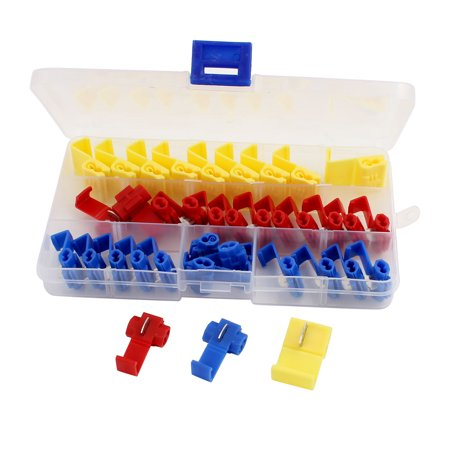Kit Quick Splice Electrical Connector Assortment w Organizer Case