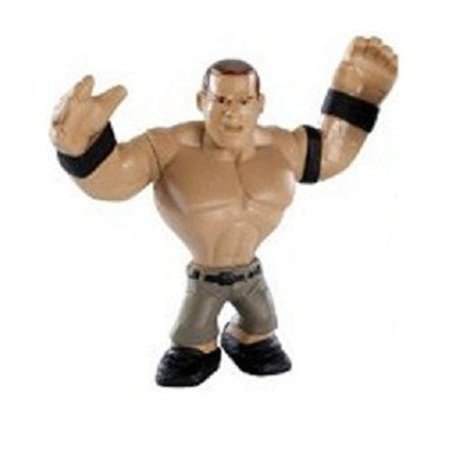 WWE Wrestling Rumblers Mini Figure John Cena [Black Wristbands]](John Cena Muscle)