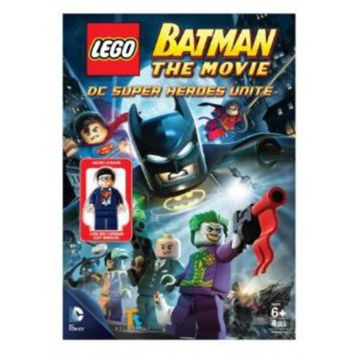 LEGO DC Universe Super Heroes Batman Movie: DC Super Heroes Unite DVD Video