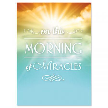 Sunrise Miracle Faith Easter Greeting Cards - Set of 8 (1 design), Large 5