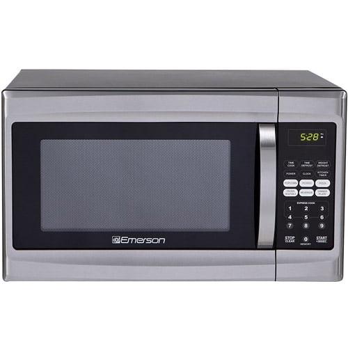 Walmart Microwave Ovens ~ Refurbished emerson cu ft watt touch control