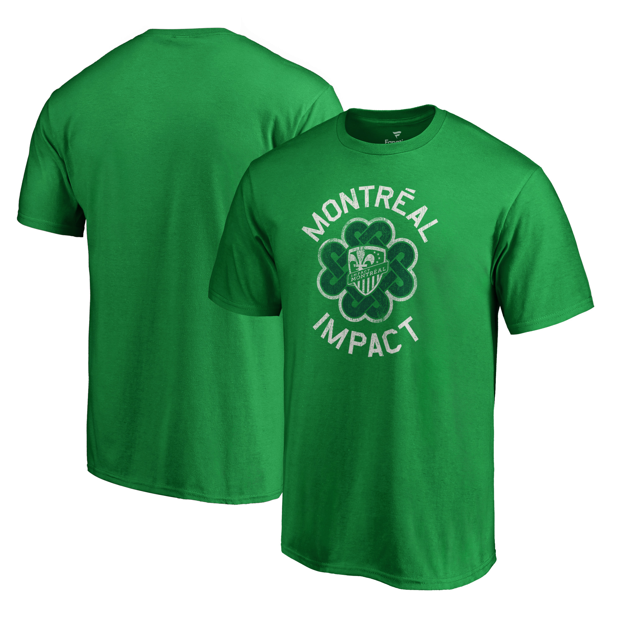 Montreal Impact Fanatics Branded Big & Tall St. Patrick's Day Luck Tradition T-Shirt - Green