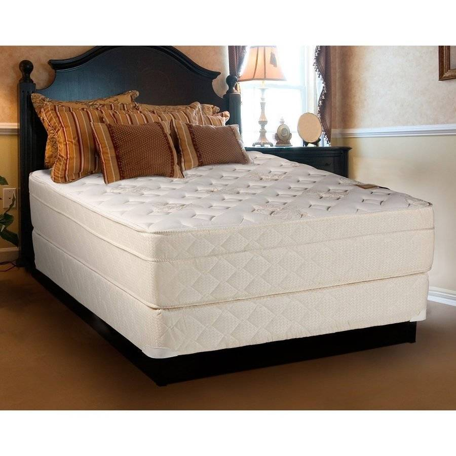 "Continental Sleep Fifth Ave Collection 13"" Fully Assembled Foam Encased Firm Eurotop Orthopedic Mattress Set with 5"" Box-Spring, Multiple Sizes"