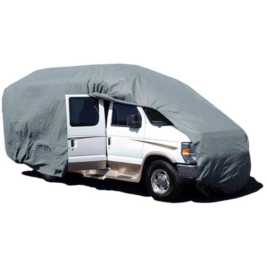 Budge Premier Class B RV Cover, Waterproof, Grey 300 Denier Polyester