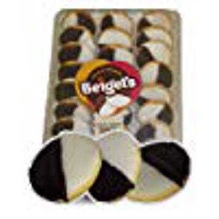 Beigel's Black and White Cookies - Tray of 24 (Best Nyc Black And White Cookies)