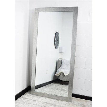 Industrial Modern Floor Leaning Tall Mirror 32''x 71''