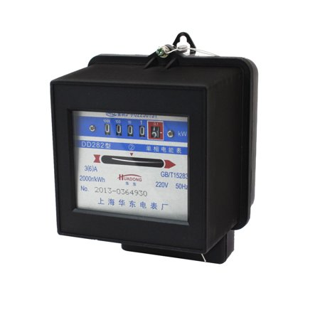 AC 220V 3(6)A 50Hz Single Phase Kilowatt Hour Energy Meter
