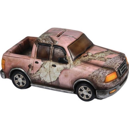 River's Edge Pink Camo Truck Bank