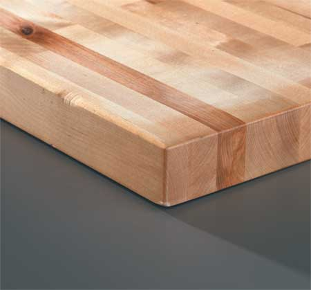WB Manufacturing 975 30X60 Workbench Top, Hardwood, 30x60x1-3/4