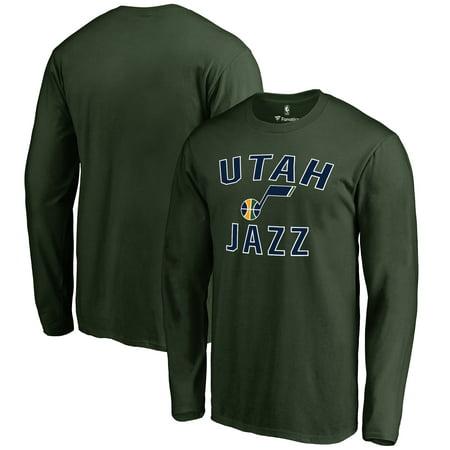 Utah Jazz Victory Arch Long Sleeve T-Shirt - (Utah Jazz Leather)