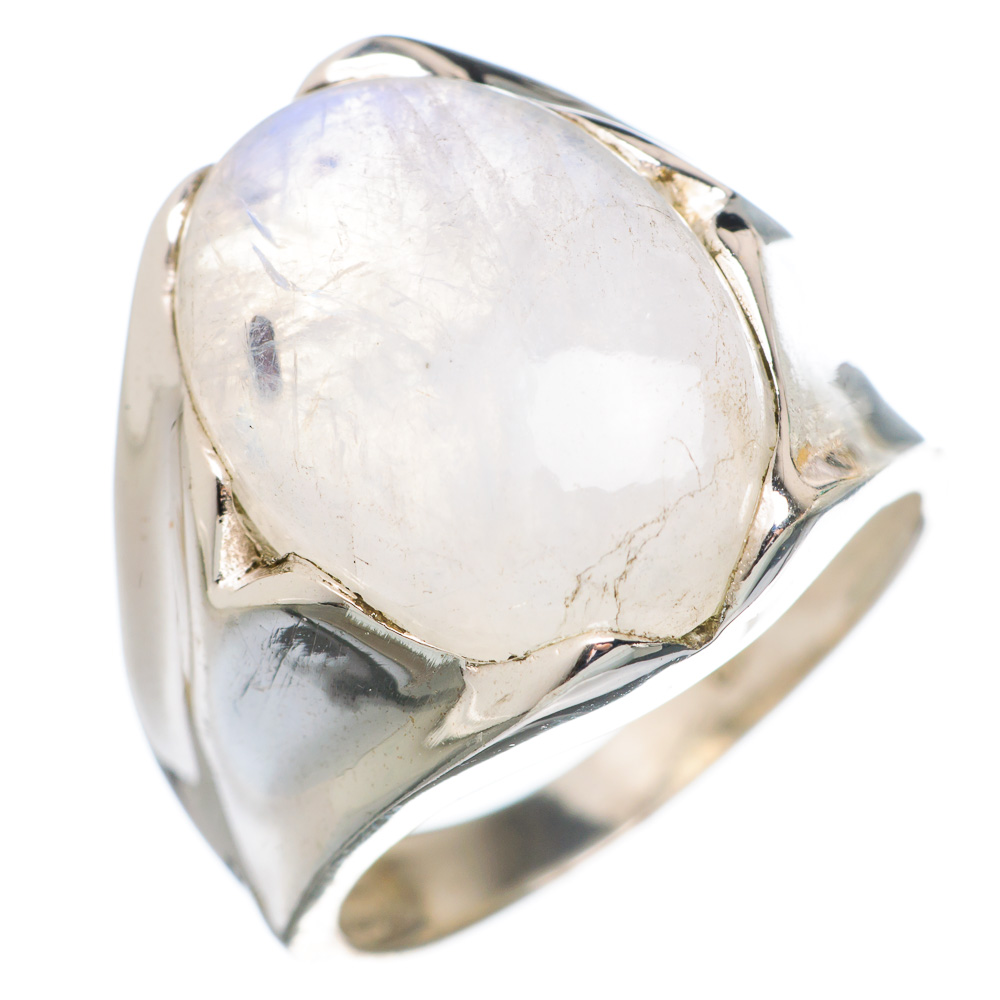 Ana Silver Co Rainbow Moonstone 925 Sterling Silver Ring Size 7.75 RING767471