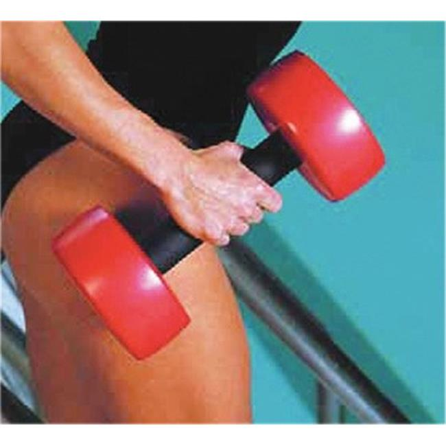 Cando Hand Bars, Pair, Red