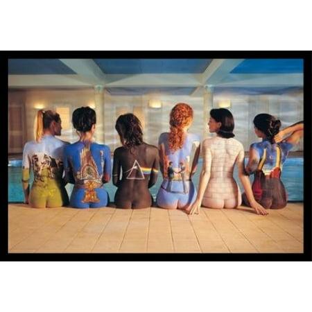 Framed Pink Floyd Back Catalog Music Album Artwork 36X24 Art Print Poster Wall Decor Rock And Roll Album Cover