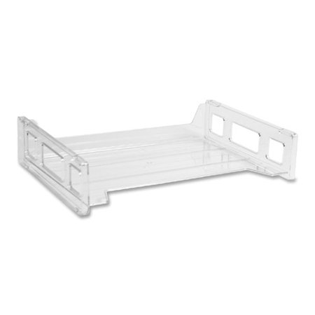 Business Source Stacking Tray, Side Load, Letter,