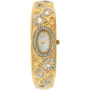 Elgin Ladies Crystal Accented Heart Shap