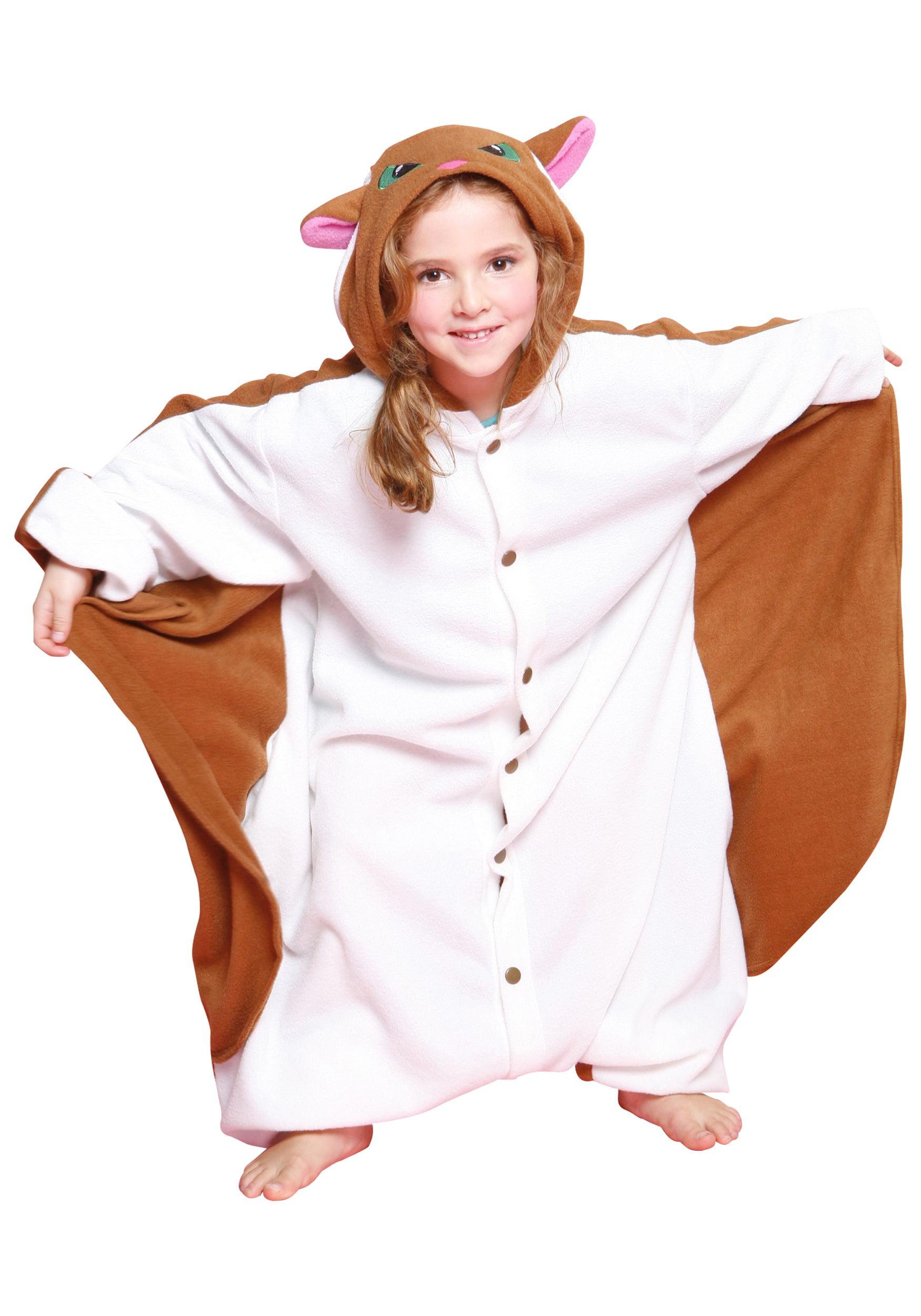 sc 1 st  Walmart & Kids Flying Squirrel Pajama Costume - Walmart.com