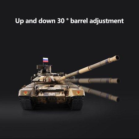 Anauto Simulation Tank,RC Tank,HengLong 1/16 Upgraded Metal Russian T90 RC Tank Model Tracks Sprockets 3938 ()