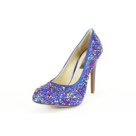 Inc International Concepts Womens Pump Heels Size 6 Med Blue Textile