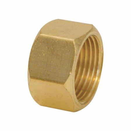 """Ez-Flo 65211LF 5/8"""" Compression Nut Brass"""