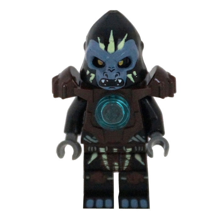 LEGO Minifigure - Legends of Chima - GORZAN (Heavy Armor)