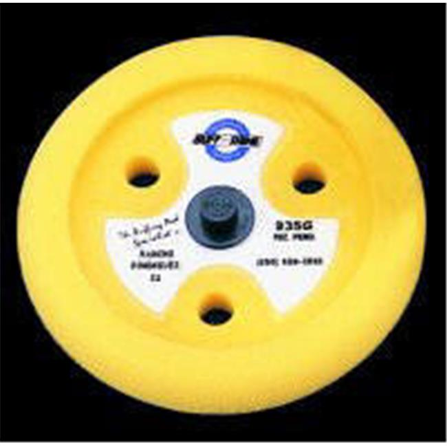 Buff and Shine  BFS-935GT 9 in. Yellow Light Cut Foam Buffing Pad