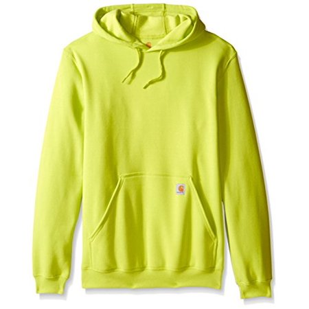 Carhartt Men's Big-Tall Midweight Sweatshirt Hooded Pullover Original Fit, Sour Apple, - Carhartt Thermal Pullover