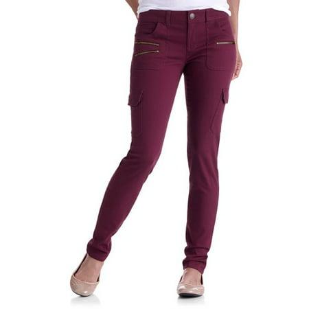 56931b97b791b No Boundaries - Juniors  Skinny Cargo Pants - Walmart.com