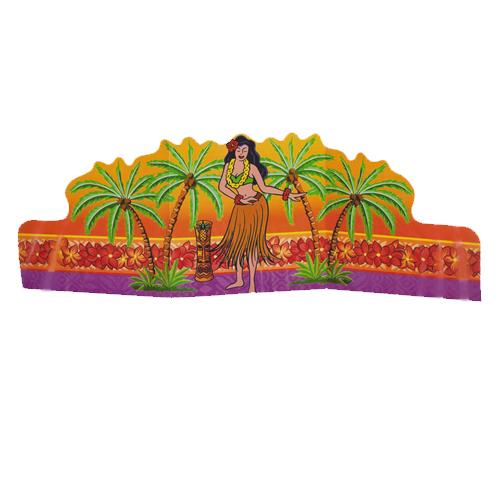 Hawaiian Luau Palm Trees Table Decoration (1ct)