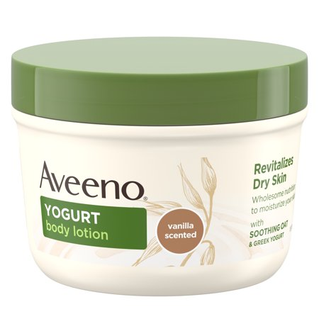 Aveeno Daily Moisturizing Yogurt Body Lotion for Dry Skin, 7