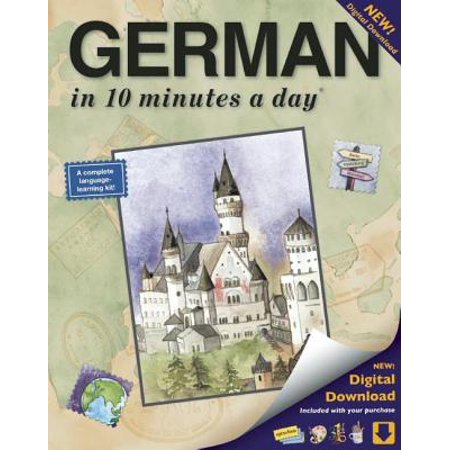 German in 10 Minutes a Day : Language Course for Beginning and Advanced Study. Includes Workbook, Flash Cards, Sticky Labels, Menu Guide, Software, Glossary, and Phrase Guide. Grammar. Bilingual Books, Inc. (Publisher)](Halloween Phrases In German)