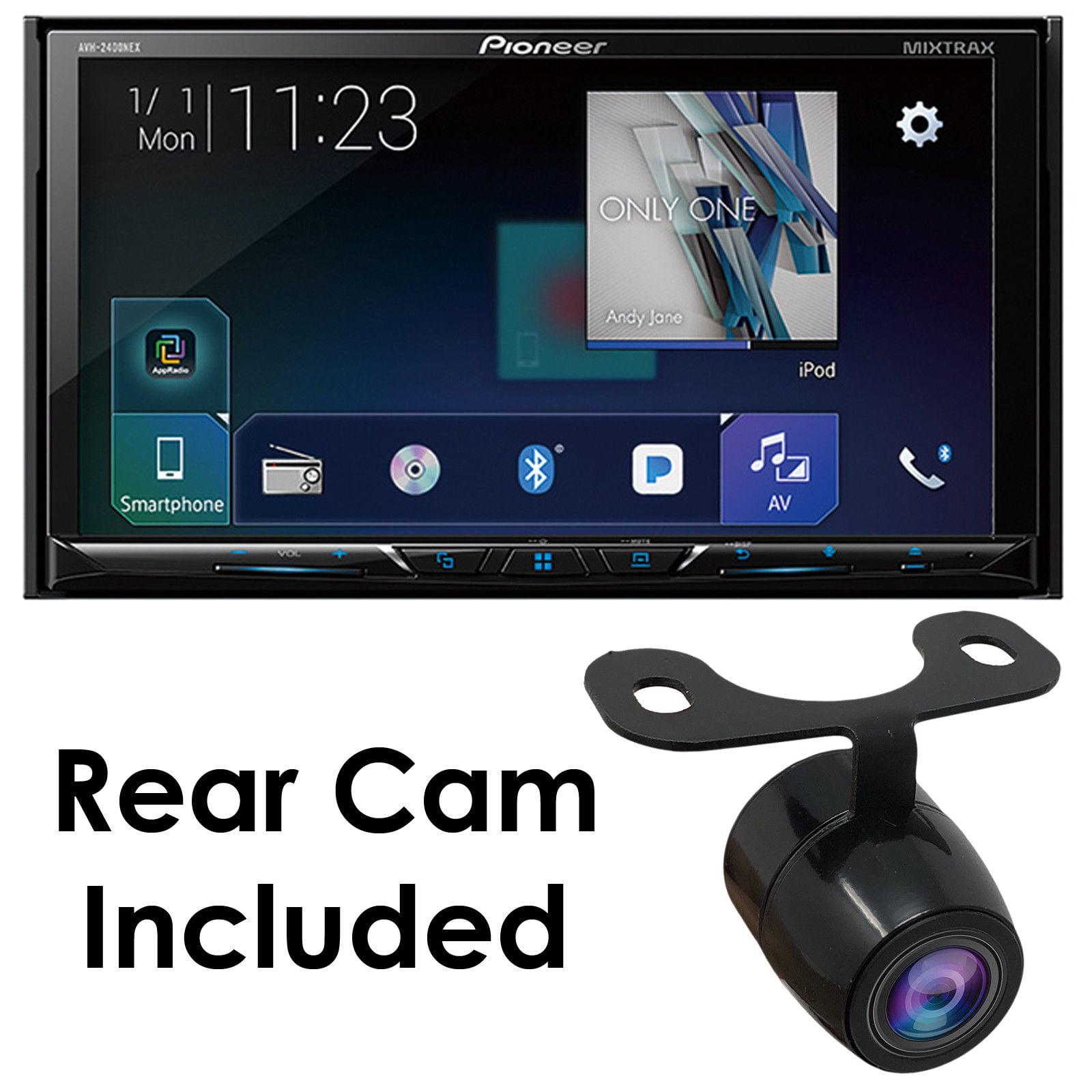 "Pioneer AVH-2400NEX 7"" 2-DIN DVD CD Bluetooth Android Auto/Apple Play Stereo+CAM"