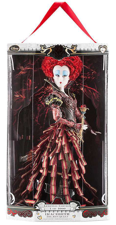 Iracebeth The Red Queen Doll Limited Edition 17 Inch Disney by