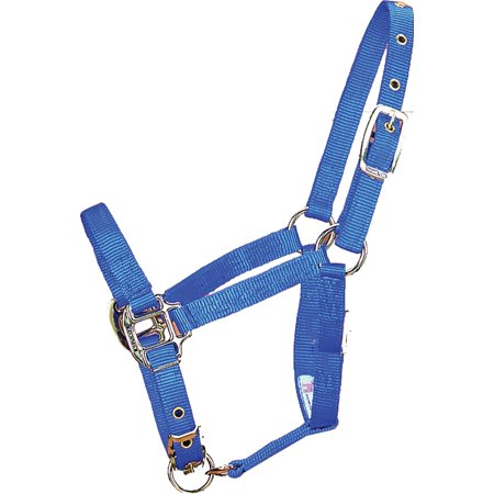 ADJUSTABLE CHIN HORSE HALTER WITH SNAP