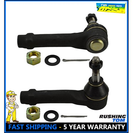 2 Pc Front Outer Tie Rod End Venture Monte Carlo Impala Prix Pontiac Chevy 97 (Pontiac Hot Rods)
