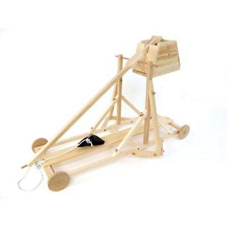 Pathfinders Medieval Trebuchet Wooden Kit Models Kits Toys Hobbies