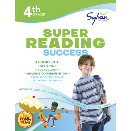 4th Grade Jumbo Reading Success Workbook : Activities, Exercises, and Tips to Help Catch Up, Keep Up, and Get