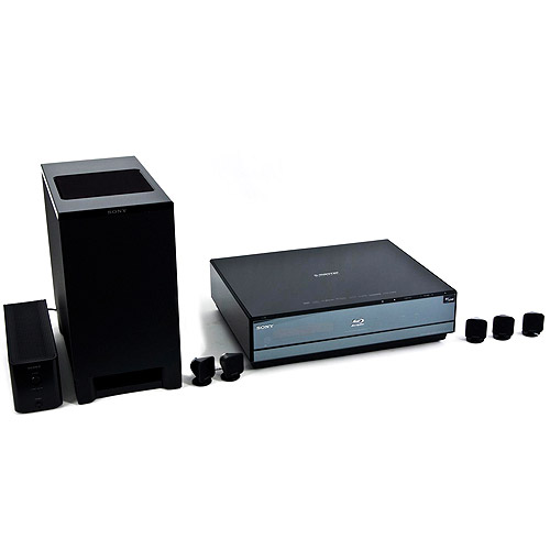 Sony 5.1 Blu-ray Disc/DVD Home Theater System, BDV-IS1000