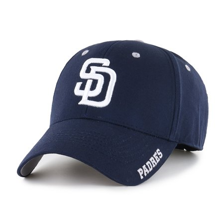 MLB San Diego Padres Frost Adjustable Cap/Hat by Fan - San Diego State Baseball Halloween Costumes