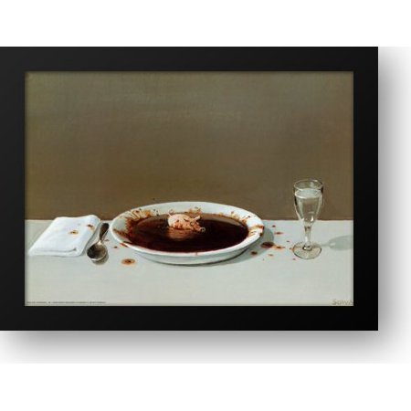 Pig in Soup 32x24 Framed Art Print by Sowa, Michael for $<!---->