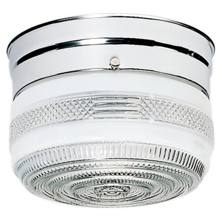 Bright Chrome Flush - Nuvo Lighting  77/100  Ceiling Fixtures  Indoor Lighting  Flush Mount  ;Polished Chrome