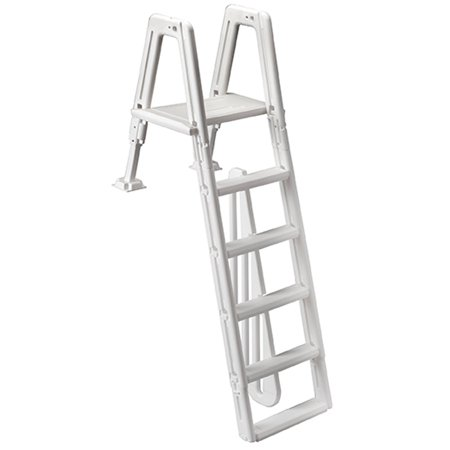 Ocean blue 400900 above ground swimming pool safety ladder for mighty step for Above ground swimming pool ladder parts