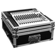 """Marathon Flight Road Case MA-M19 19"""" Live Sound Mixing Console Case, 12 Spaces without Rackmount - Internal Dimension 21"""" Height19"""" Depth - External Dimensions 10.5"""" Height x 22.0"""" Width x 23.5"""" Depth"""