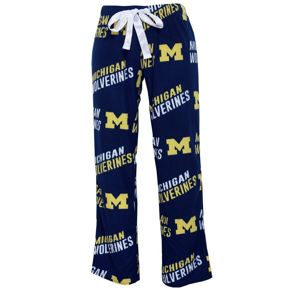 University of Michigan Wolverines Ladies Wildcard Pajama Pants