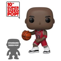 "Funko POP! NBA: Bulls - 10"" Michael Jordan (Red Jersey)"