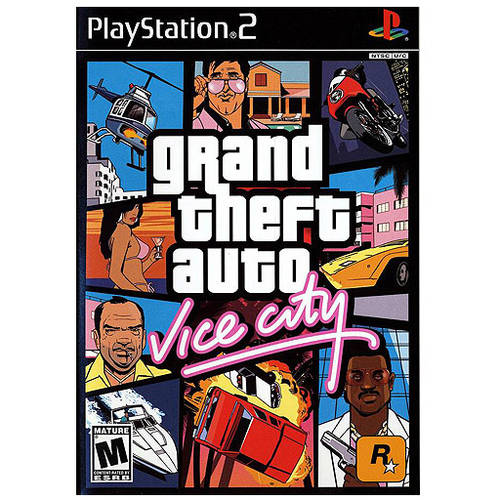 Grand Theft Auto Vice City (PS2) - Pre-Owned