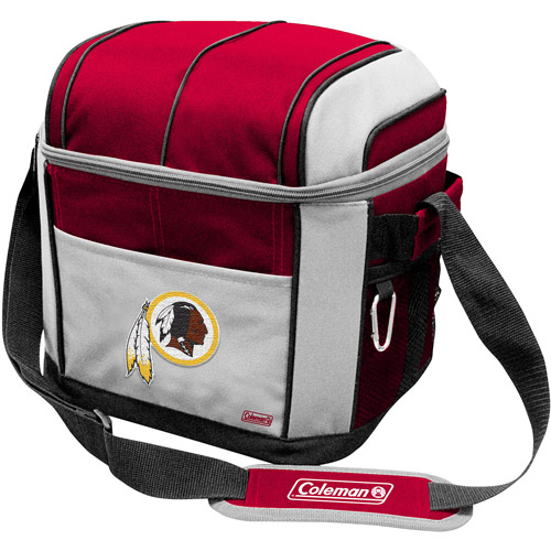 "Coleman 11"" x 9"" x 13"" 24-Can Cooler, Washington Redskins"