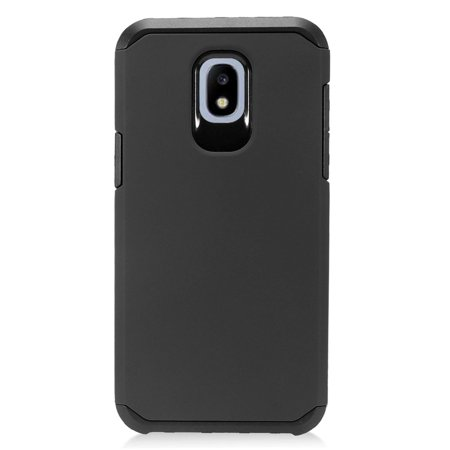 Samsung Galaxy Express Prime 3 case J3 2018 case by Insten Hard Plastic/Soft TPU Rubber Case Cover For Samsung Galaxy Express Prime 3/J3 (2016)/J3 (2018)/J3 Achieve/J3 Star