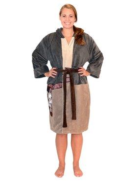 Product Image Star Wars Force Rey Resistance Women s Costume Fleece Robe  OSFM 3b78e4a79